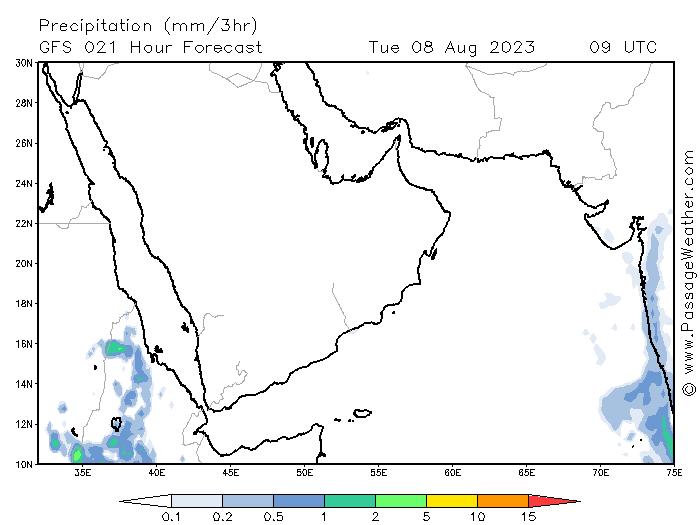 84 توقعات الامطار من240  موقع ابو سعد للطقس / توقعات الامطار من موقع passageweather wunderground