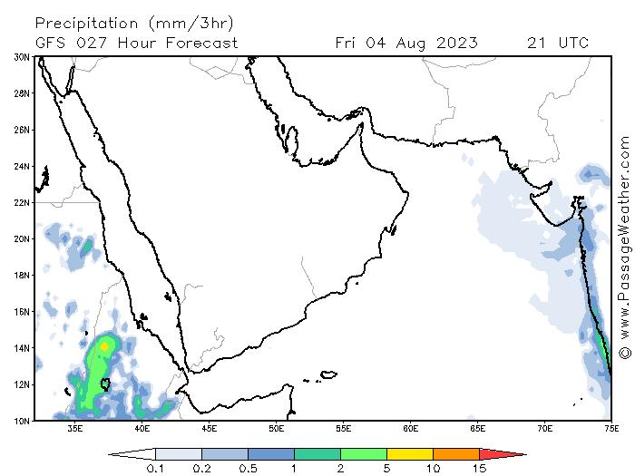 240  موقع ابو سعد للطقس / توقعات الامطار من موقع passageweather