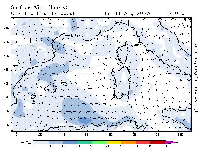 Prévision Passage Weather à 7 jours