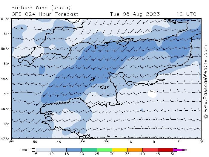 Windverwachting Kanaal
