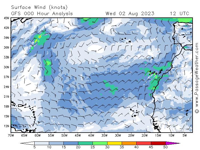 Vítr nad Atlantikem - dnes