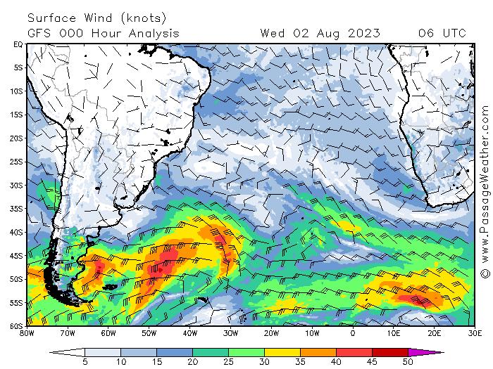 meteo transat vents